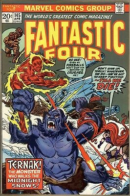 Fantastic Four #145 - VF+