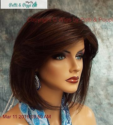 """""""May"""" Rene Of Paris Noriko Wig  *Coffee Latte R *New In Box With Tags 557"""