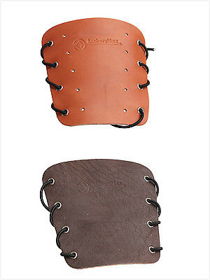 ArcheryMax HandMade TRADITIONAL ARCHERY COW LEATHER ARM GUARD