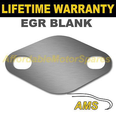 Audi A2 A3 A4 A6 80 Tdo Diesel Egr Valve Blanking Plate 1.5Mm Thick Steel Nd