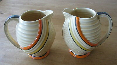 Antique Art Deco 1930's Wade Jugs X 2