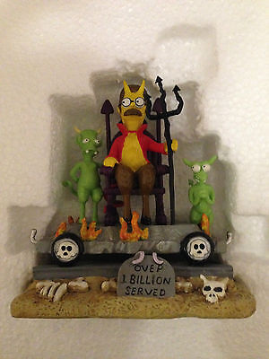 Simpsons Hamilton Sculpture The One You Least Suspect Halloween Train Of Terror