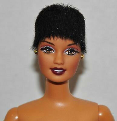 Uptown Chic Barbie AA  Nude Doll only w/ stand No box!