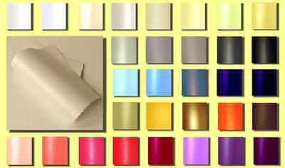 Pack 50 Sheets A4 Double Sided Pearlescent Paper 120gsm (Various Colours)