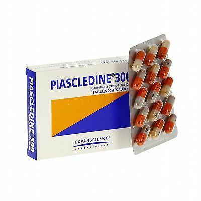 PIASCLEDINE 300mg Anti-Rheumatic and Osteoarthritis 3 x 30 capsules = 90 capsul