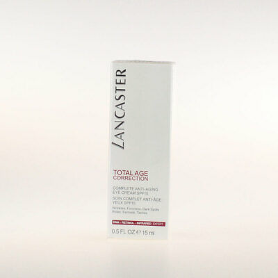 Lancaster Total Age Correction Complete Anti-Aging Eye Cream 15ml Neu&OVP
