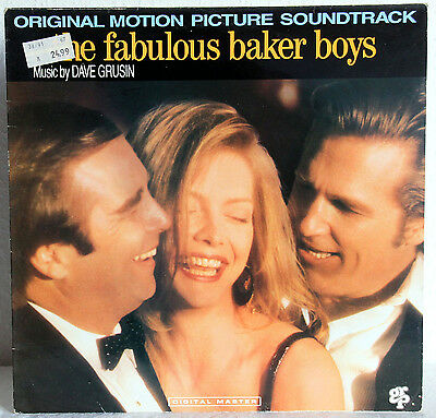 "12"" Vinyl The Fabulous BAKER BOYS Soundtrack (Music by Dave Grusin)"