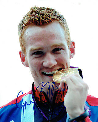 Greg RUTHERFORD Autograph Signed RARE Photo AFTAL COA Olympic Gold Medal Winner