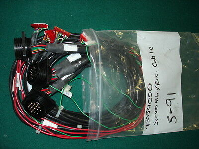 Gerber S-91 Servo Mtr/Enc Cable Part# 75059000