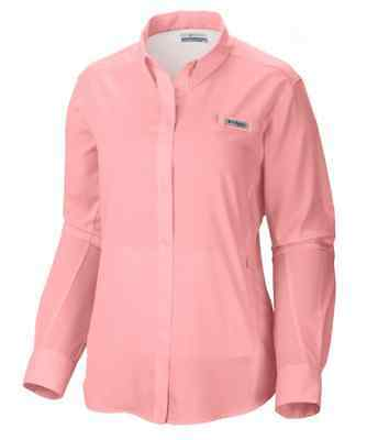 Columbia Women's Tamiami II Long Sleeve Button Up Shirt Extended Size