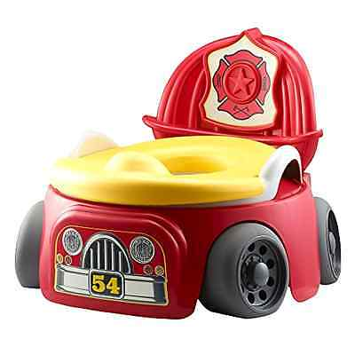 Potty Training Seat Chair Toddler Kids Boy Trainer Sit Fun Fire Truck Toilet