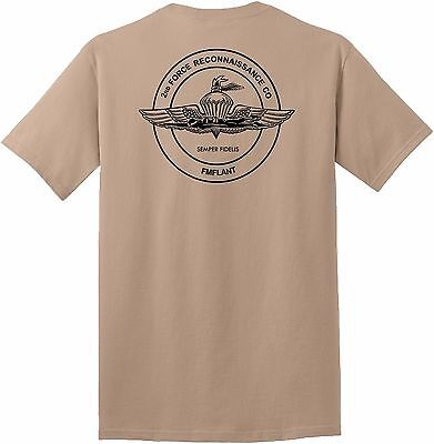USMC United States Marine Corps Recon - 2nd Force Reconnaissance Company T-Shirt