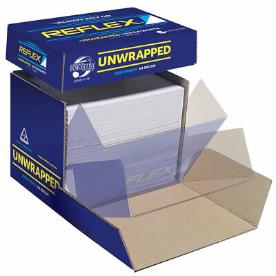 ***NEW*** Reflex Copy Paper A4 Unwrapped Box 2500 Pack White