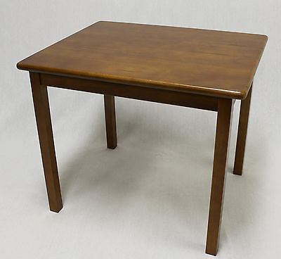eHemco Kids Solid Hard Wood Table in Dark Oak (without chair)