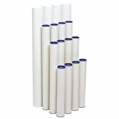 Marbig Mailing Tubes 420x60mm 4 Pack