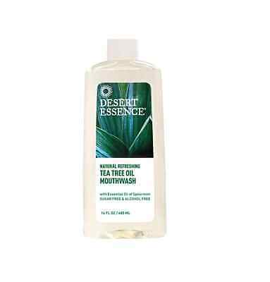 DESERT ESSENCE Natural Tea Tree Oil Mouthwash 480ml