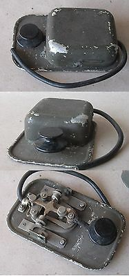 Wwii Old Vintage Army Military Aviation Morse Telegraph Key