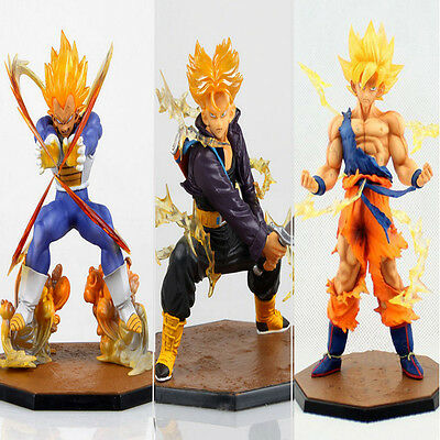 Anime Dragonball Z Goku Trunks 14cm Action Figure PVC Model Toy Cartoon Gift