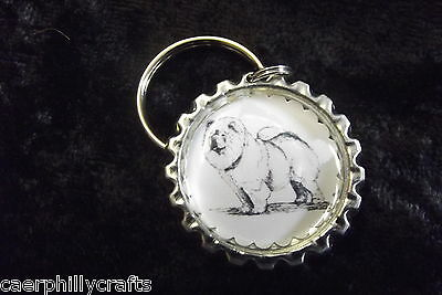 Chow Chow Keyring by Curiosity Crafts