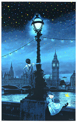 ROAMCOUCH When you wish upon a star London ed.50 + COA | Graffiti art print