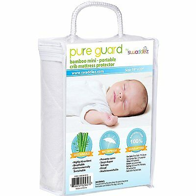 Pack N Play Crib Mattress Pad, Fits ALL Pack and Play or Mini Portable Crib and