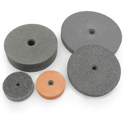 "Bench Grinder Linisher Sanding Stone Buffing  Wheels 3"" 75mm 6"" 150mm 8"" 200mm"
