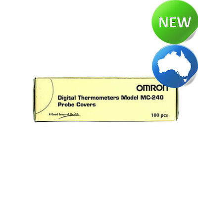 Omron Digital Thermometers MC-240 Prove Covers 100pcs