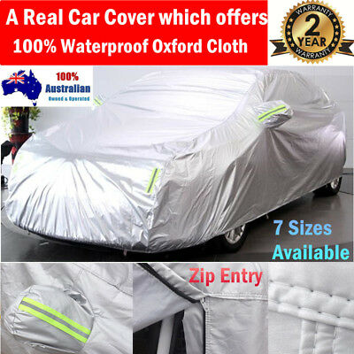 rain waterproof Double thicker car cover rain resistant Anti UV dust car cover