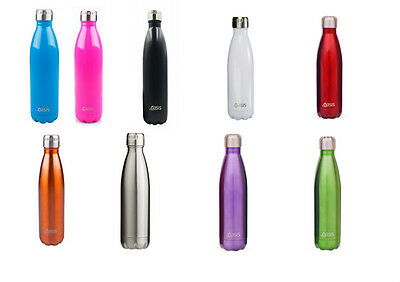 Oasis 750ml Double Wall Insulated Drink Water Bottle Hot Cold Thermos