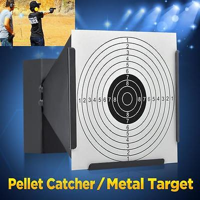 14CM Funnel Shooting Target Holder Air Rifle Pellet Trap Airsoft Pistol Practice