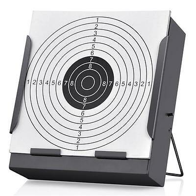14CM Shooting Target Holder & 100 Targets Air Rifle Pellet Trap Airsoft Practice
