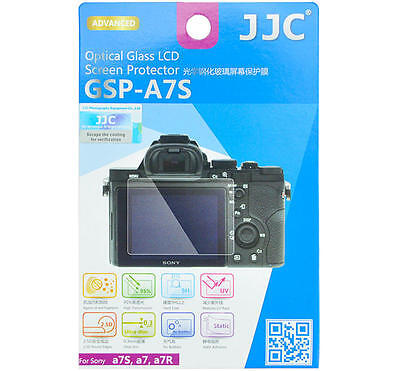 JJC Screen protector Optical Glass Static Adhesion for Sony A7 A7s A7r A7II