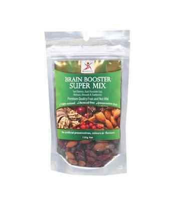 DR SUPERFOODS Cherry, Cranberry, Choc Goji & Nuts Brain Booster Super Mix 150g