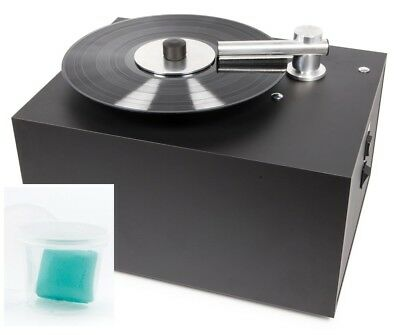 Pro-Ject Vinyl Cleaner VC-S VCS Record Cleaning Machine | Free LP Inner Sleeves