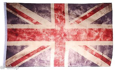 Flagge Gb Uk Vintage Fahne 150X90 Gross Retro Used Britannien Union Jack England