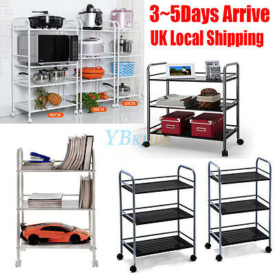 New 3/4 Layer Beauty Salon Trolley Cart Storage Tattoo Dentist Wax Treatment Fur