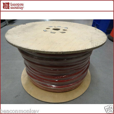 Copper Welding Cable 640/0.30 50mm 345 Amp Battery Earth Cable 100m Roll Red