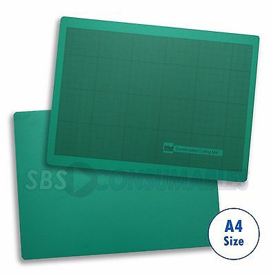 A4 West Design Cutting Mat Self Healing Green Non Slip. Double Sided Rs005618