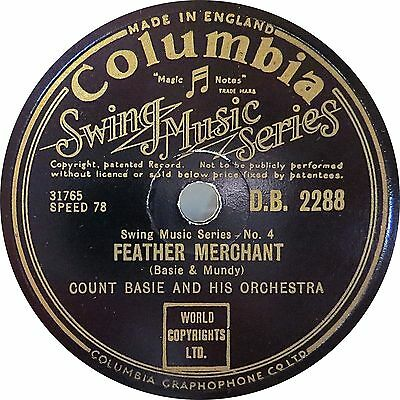 Count Basie - Feather Merchant / High Tide - 1939