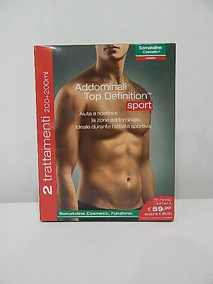 SOMATOLINE COSMETIC UOMO ADDOMINALI TOP DEFINITION SPORT 200ml + 200ml