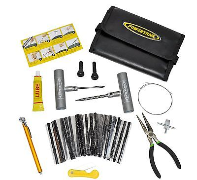 Power Tank 8134 Heavy Duty Pro-SeriesTire Plug Repair Kit
