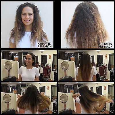 Keratin Research INVERTO Blowout Brasilianische Haarglättung Behandlung