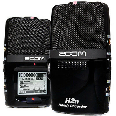 Zoom H2n Handy Recorder Portable Digital Audio Recorder NEW! Free 2-Day Delivery
