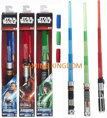 Official Star Wars Bladebuilders Lightsaber Lights And Sound *new & Sealed* Xmas