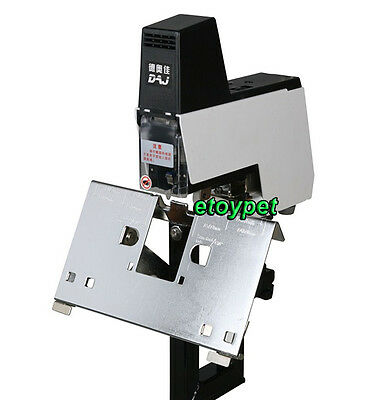 Heavy Duty Electric Flat and Saddle Stapler Bookbinding Riding Binding machine