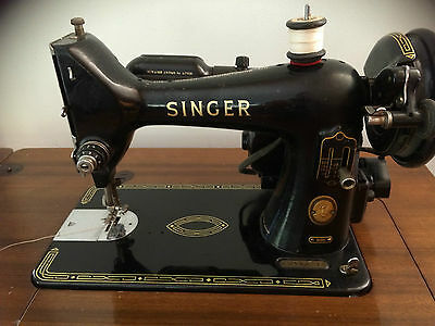 Vintage Singer Sewing Machine 99K
