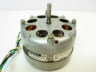 Reel to Reel Sony TC-730 Take Up & Supply Forward Rewind Play MOTOR UC-624K Part