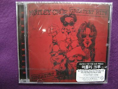 Motley Crue MÖTLEY CRÜE / Greatest Hits CD NEW SEALED