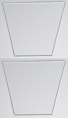 Tempered Glass Pane for Outdoor Gaslight; FG300; 02 panes