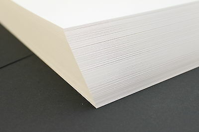 A5, A4, A3 200gsm WHITE DECOUPAGE CRAFT CARD (ARTS, CRAFTS, CARD MAKING & SCHOOL